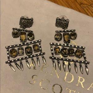 Kendra Scott druzy statement earrings
